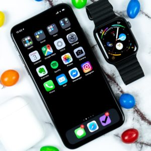 Mobile phone and smart watch